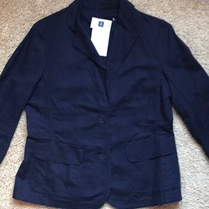 Gap Women's Size 8 Linen Blazer